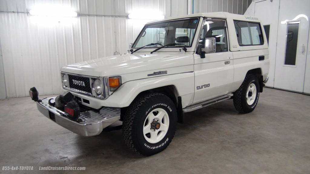 land cruisers direct vehicle inventory 1989 toyota land cruiser bj74 lx 6113